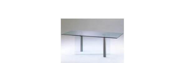 tavolo a due gambe