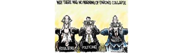 Enron e tre scimmiette