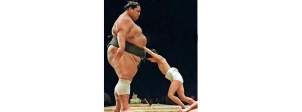lotta tore sumo e bambino
