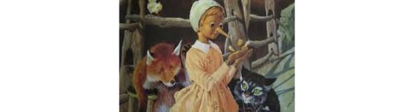 Pinocchio i due e gli zecchini